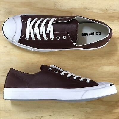 9c5ddda1e2a7 Converse Jack Purcell Pro Ox Maroon Red White Low Top Casual Shoe  155624C   Size