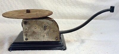 """early •STANDARD AA• old Talking Machine antique ••Columbia 7"""" DISC PHONOGRAPH••"""
