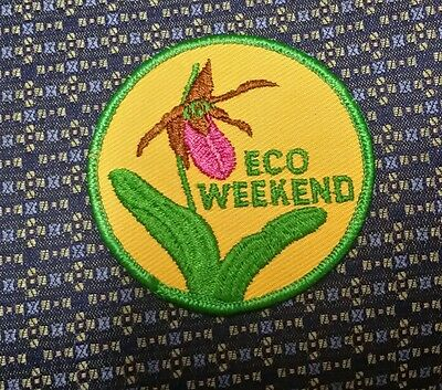 ECO WEEKEND Sew-On Patch