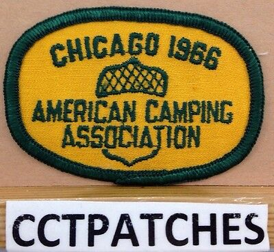 American Camping Association Chicago 1966 Patch
