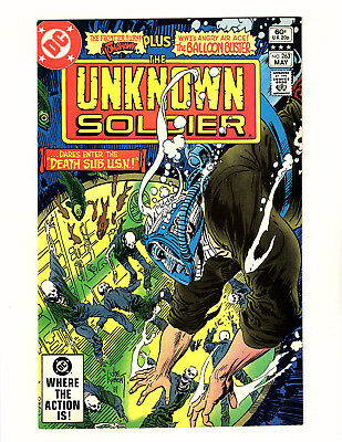 The Unknown Soldier #263 (1982, DC) VF/NM Joe Kubert Cover Dick Ayers