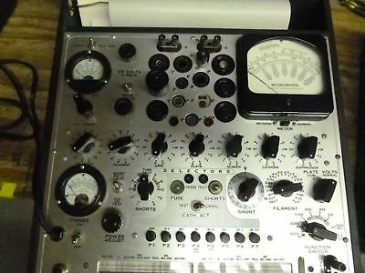 Excellent working hickok 539c tube tester