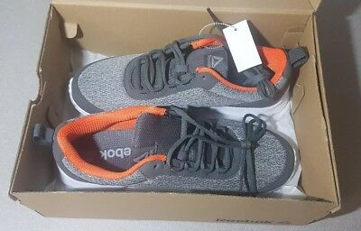 Reebok Speedlux 3.0 Mens Gray Textile Athletic Lace Up Running Shoes 10.5 ed78bad56