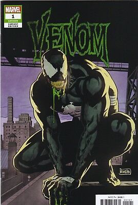 VENOM 1 2018 PAOLO RIVERA 1:25 INCENTIVE VARIANT NM See Scans