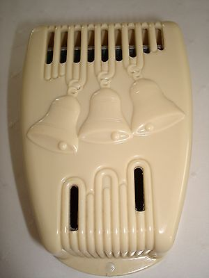 Vintage Leviton Art Deco Bakelite Golden Tone Electric Door Chime Nos  No. 50