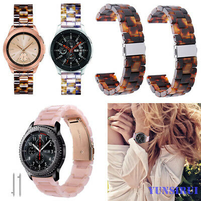 Fashion 20mm for Samsung Galaxy Watch 42mm Band Resin Bracelet Wrist Strap Light