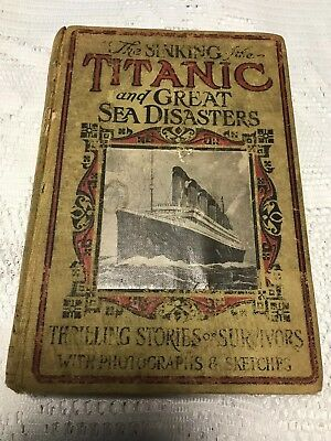 "Original Copy Of ""Titanic"" Copyright 1912"