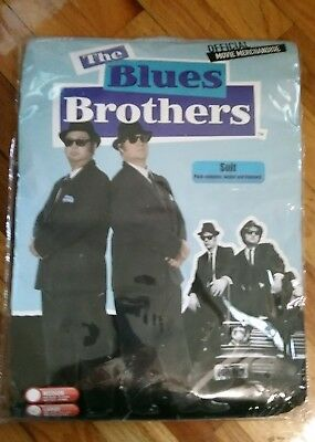 Smiffy's Official Movie Merchandise Blues Brothers New Costume Sz Lg Mens