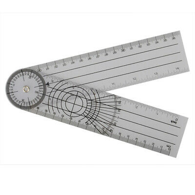 [NEW] 3pcs Professional 360 Degree Multi-Ruler Goniometer Spinal Angle Ruler