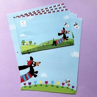 Dachshund Cute Letter Set/ Writing Note Paper Scrapbook /planner /journal