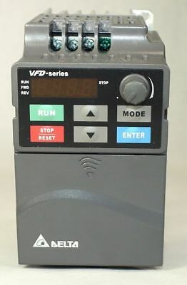 New Delta Inverter VFD007EL43A 3PH 380V 0.75kW Variable Frequency Drive
