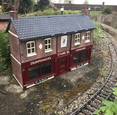 Garden Railway British Outline G Scale/ Gauge 1 Iron mongers Shop