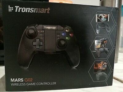 TRONSMART Mars G02 Bluetooth & Wireless Game Controller Handle Gamepad Joystick