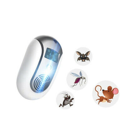 [NEW] Pests Control Ultrasonic Pest Repeller Repellent Electronic Bug Repellent
