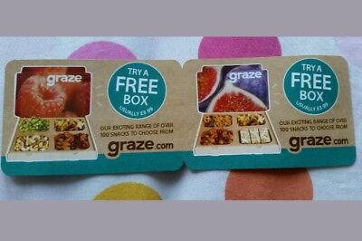 Voucher of box of snacks to choose from Graze.com