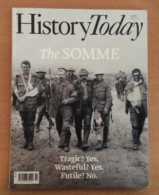 History Today Magazine July 2016: The Somme