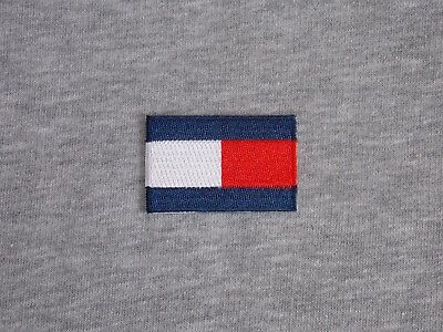 2in*1.3in Embroidered Rectangle Iron On Patch Embroidered Emblem Of Fashion