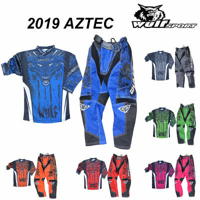 Wulf 2019 Aztec Cub Motocross Pants Junior Off Road Trousers Kids MX Enduro Quad