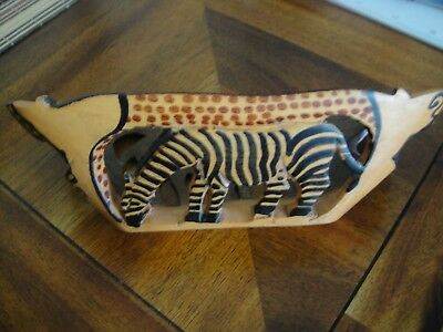 Wooden African Bowl