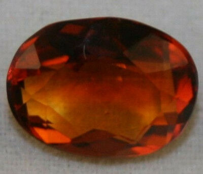 Natural Madeira Red Citrine Loose Gem 8X10 Faceted Oval Cut 2.5Ct Gemstone Ci15