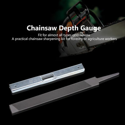 Depth Gauge Flat Files Kit for General Chainsaw STIHL Chain Saw Raker File Hot