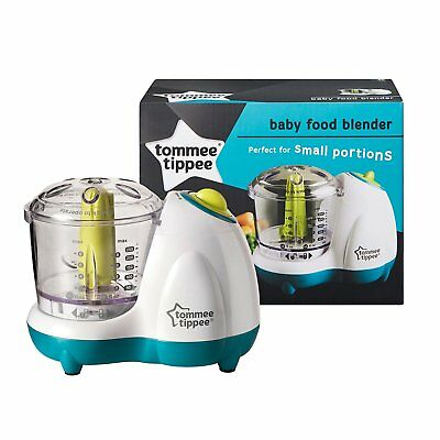 NEW Tommee Tippee Baby Food Blender - Ideal for small portions weaning