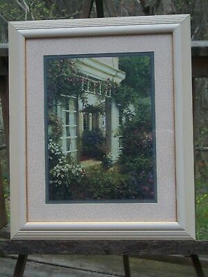 Homco Home Interiors Gifts Framed And Matted Floral