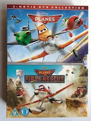 Planes / Planes 2 [DVD] NEW & unsealed, K4