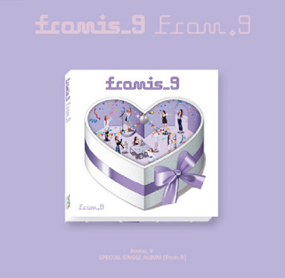 "K-POP Fromis_9 Special Single ""From.9"" [ 1 Photobook + 1 CD ]"
