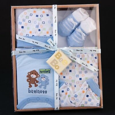 Boxed Gift Set for a Baby Girl with a Photo Album Starter Set of Pink Gifts