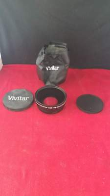 Vivitar 72mm HD4 MC AF High Definition 0.43x Wide Angle Converter W/Macro Japan