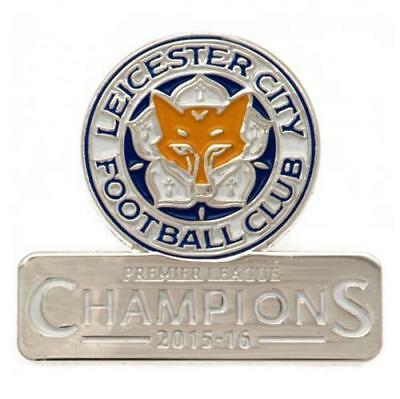 Leicester City Fc Club Enamel Crest Pin Badge Football Club New Gift Xmas