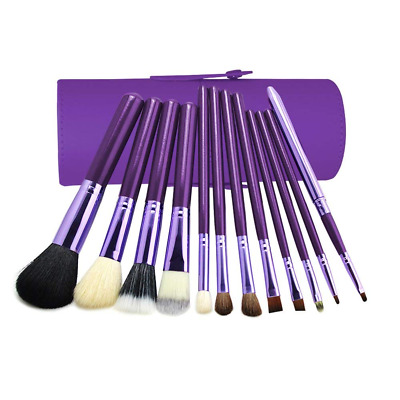 Makeup Brush Set, 12 pcs Cosmetic Brushes Foundation, Eyeshadow,Blush Concealer