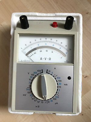 Analog Multimeter Siemens Multizet µA M819-A14 - Ca. 1983