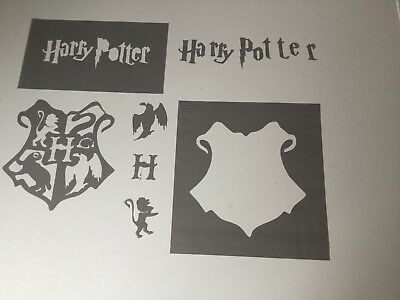 Harry Potter stencil pp Plastic various colours