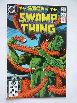 Swamp Thing 6 DC Comics 1982