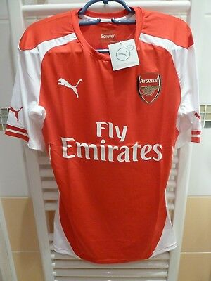 Mailot shirt Arsenal player issue professionel pro stock ACTV Power cell neuf !!