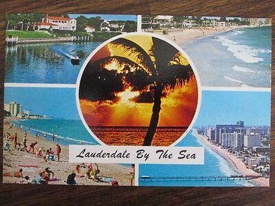 Lauderdale By The Sea, A Composite of Scenes (74-11), by Gulfsteam Card Inc.
