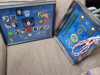 FANTASTIC LOT OF MILITARY GENERATIONS RARE PATCHES PINS WOW must see
