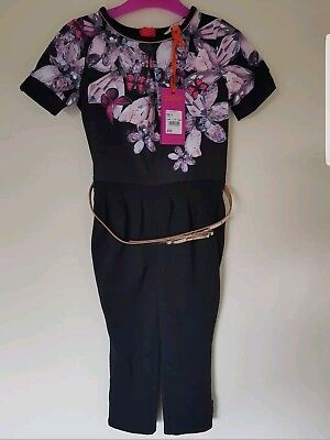 Ted baker Girls Jewels Jumpsuit. Ages 5, 6 Years. BNWT. Designer. Rrp £32.00