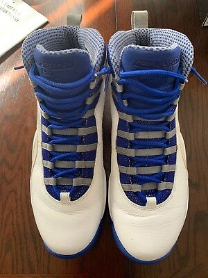 huge selection of 7772e 10c9d 2012 Nike Air Jordan 10 X Retro TXT Royal Blue Size 13. 487214-107