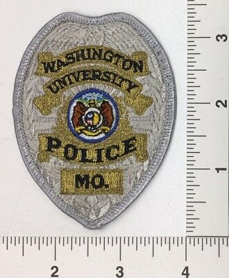 Washington University Missouri Police Patch
