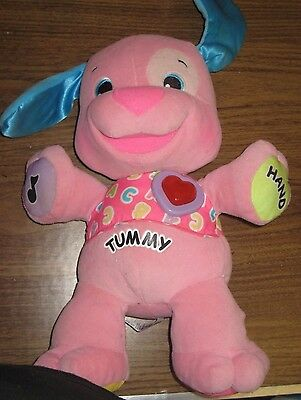 Fisher Price Laugh And Learn Love To Play Talking Puppy Dog