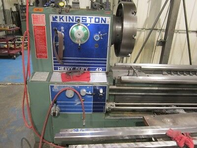"Kingston 40"" x 144"" Hevy Duty lathe."