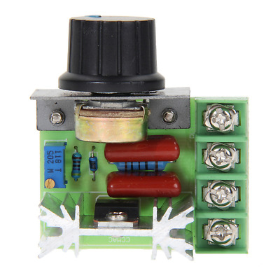 Regulateur  controleur  PWM SCR 2000W AC 220v -1200v DC 50V-220V 25A