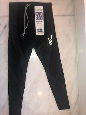 CWX Womes Pro Tights Style 140809 Black NWT Compression Jogging Pant $110 retail