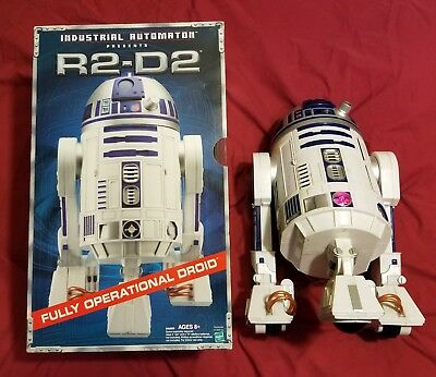 Star Wars Automatic 15 Inch Tall Interactive R2-D2 Droid by Hasbro with Box