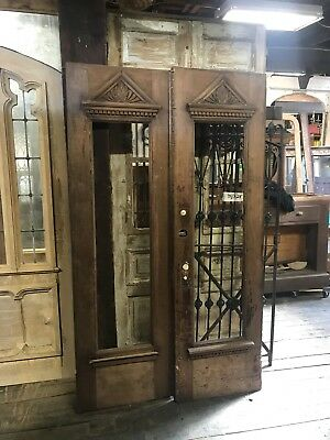 "Antique Walnut 24"" Door Pantry Door Accent Door 4 Doors Available"