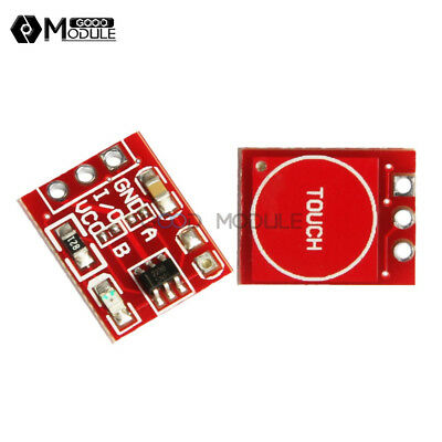 2PCS NEW TTP223 Capacitive Touch Switch Button Self-Lock Module for Arduino AT