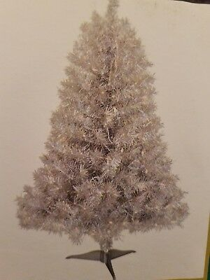 pre lit silver holographic tinsel artificial christmas tree polytree ltd - Polytree Christmas Tree